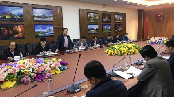 UBND tỉnh làm việc với đại diện Bộ GTVT về dự án đường cao tốc Bắc - Nam phía Đông đoạn Quảng Bình - Quảng Trị