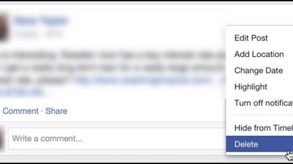 """Facebook đã bỏ chức năng xóa status, hãy nghĩ kỹ trước khi """"thả thính"""""""