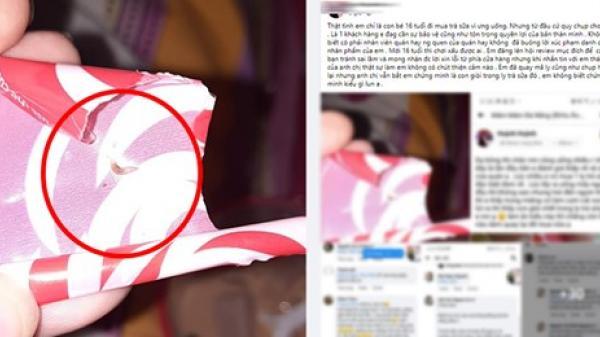 Dậy sóng mạng xã hội Đà Nẵng: Khách tố ly trà sữa có giòi, ngay lập tức bị hàng loạt người lạ đe dọa