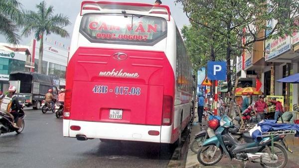 Đà Nẵng: Bùng phát xe khách bỏ bến, chạy dù-Vi phạm có hệ thống