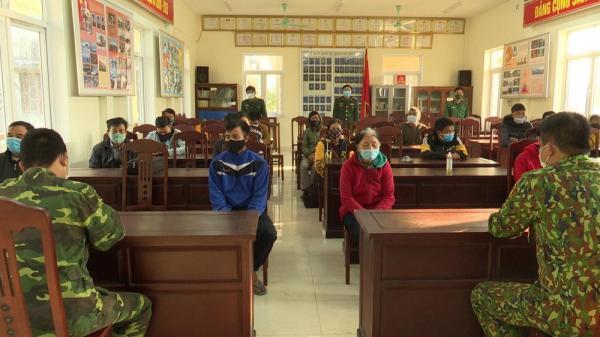 Quảng Trị: Một ngày phát hiện 9 vụ với 29 đối tượng từ Lào vào Việt Nam trái phép