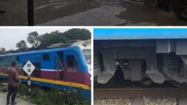 Người phụ nữ ở Quảng Trị mắc kẹt dưới gầm tàu