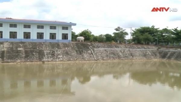 Nhiều hộ dân ở Đà Nẵng phải thức đêm hứng nước