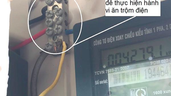 Đà Nẵng: Sử dụng điện trái phép trị giá 60 ngàn đồng, bị phạt 2 triệu đồng