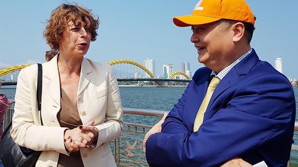 """Đà Nẵng hợp tác với Tập đoàn Philips (Hà Lan) đưa sông Hàn trở thành """"Dòng sông ánh sáng"""""""