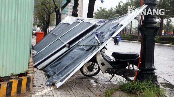 Đà Nẵng: Cảnh báo gió mạnh, mưa lớn