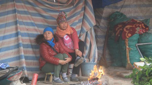 Điện Biên: Người dân gồng mình chống chọi với giá rét
