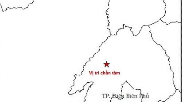 Động đất 3,2 độ richter ở Điện Biên