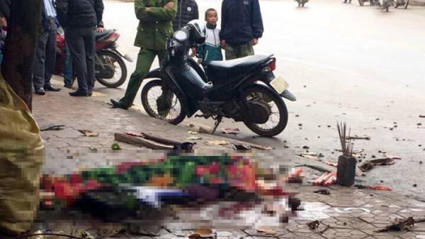 Điện Biên: Xe mô tô đâm vào cột điện, 1 người tử vong tại chỗ