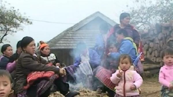 Pha Đin (Điện Biên) lạnh 2.9°C