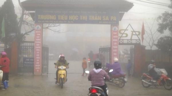 Rét đậm, rét hại ở Lào Cai kéo dài hết ngày mai (14/1)