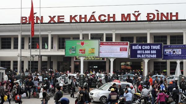 Điện Biên đề nghị chuyển 14 nốt xe khách từ bến Yên Nghĩa sang Mỹ Đình
