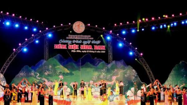 Lễ hội Hoa ban tỉnh Điện Biên năm 2018 thu hút 80 gian hàng tham gia trưng bày