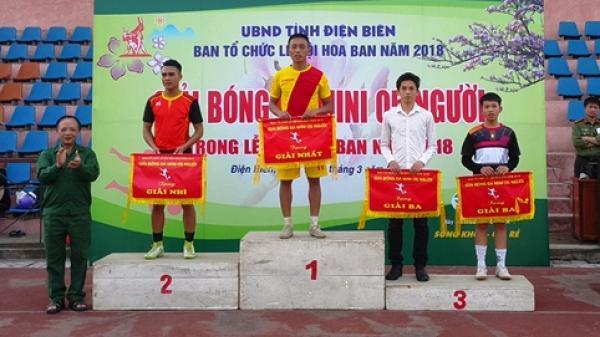 Điện Biên: Đã tìm ra đội thắng cuộc giải Bóng đá Mini trong Lễ hội Hoa Ban năm 2018