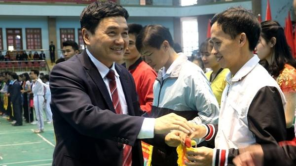 Điện Biên: Khai mạc Hội khỏe Phù đổng tỉnh lần thứ XIX năm 2018
