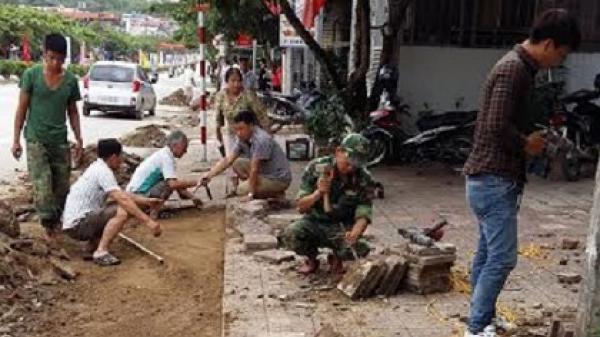 Điện Biên Phủ sau gần 3 tháng lập lại trật tự hành lang an toàn giao thông đô thị