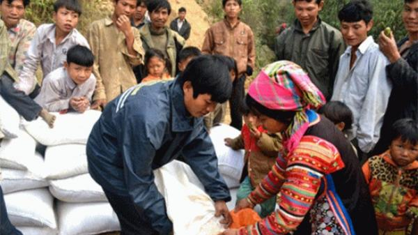 Điện Biên: Nhân dân được hỗ trợ hơn 1 triệu kilogam gạo