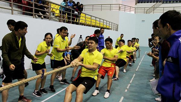 Điện Biên: Tham dự giải thể thao Fansipan báo Đảng các tỉnh khu vực Tây Bắc năm 2018