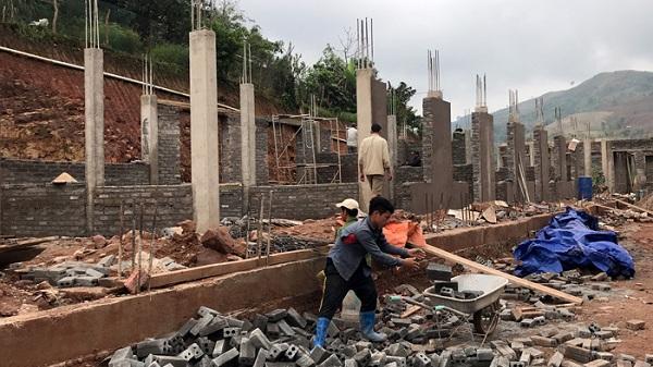 Vàng Ðán, nhiều khó khăn trong xây dựng nông thôn mới
