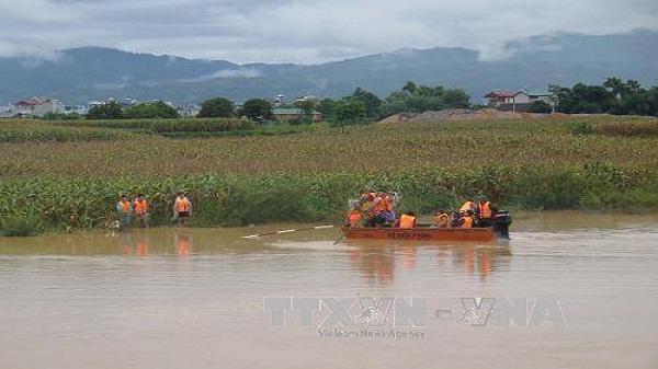 Điện Biên: Một thanh niên bị nước lũ cuốn mất tích khi bơi qua sông Nậm Rốm