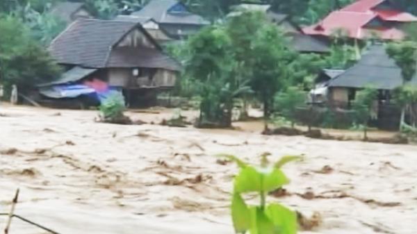 Điện Biên: Thêm một người bị nước lũ cuốn trôi