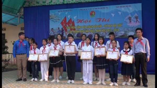 Điện Biên: Trên 50 giáo viên tham gia Hội thi làm tổng phụ trách Đội giỏi