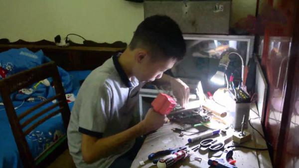 Cậu học trò và sáng tạo hữu ích dành cho vùng cao