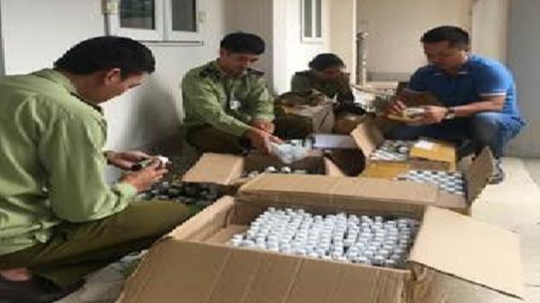 Điện Biên: Thu giữ gần 2.000 chai siro ăn ngon không rõ nguồn gốc xuất xứ