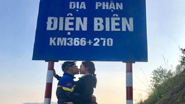 Cặp đôi phượt thủ khiến nhiều người ghen tỵ vì hôn nhau khắp Việt Nam