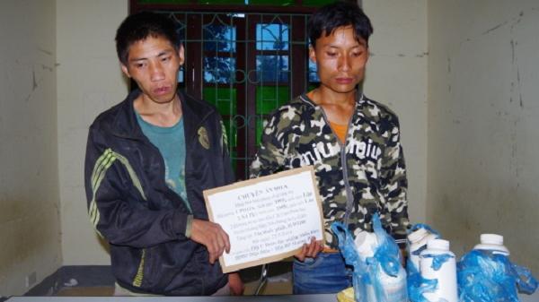 Điện Biên: Bắt 2 đối tượng vận chuyển 3kg thuốc phiện