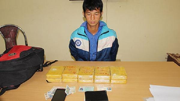 Điện Biên: Bắt khẩn cấp đối tượng mua bán trái phép 10 bánh heroin tại khách sạn Him Lam