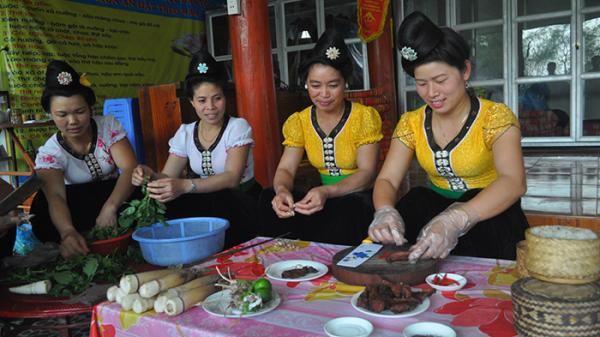 Nhớ nao lòng hương vị ẩm thực Thái Điện Biên