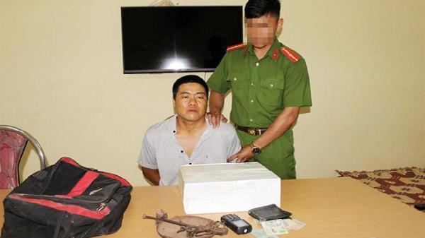 Điện Biên: Bắt giữ một  đối tượng huyện Mường Nhé đang trên đường vận chuyển 5kg thuốc phiện