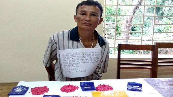 Điện Biên: Bắt 1 đối tượng có hành vi mua bán trái phép 1 bánh hêrôin và 808 viên m.a túy tổng hợp