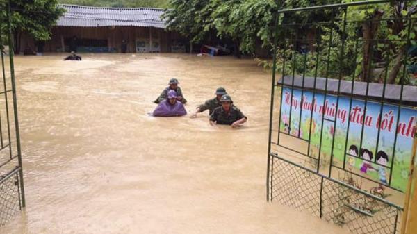 Ít nhất 4 người thiệt mạng do mưa lũ tại Điện Biên