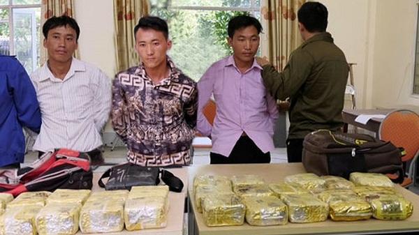 Phi vụ 200 triệu đồng để vận chuyển thuê số lượng ma túy 'khủng' của 3 đối tượng người Điện Biên bị triệt xóa
