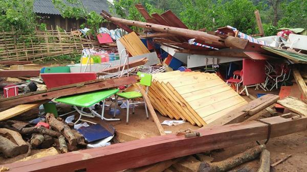 Tủa Chùa: Trên 100 nhà dân và 6 điểm trường học bị thiệt hại do giống lốc
