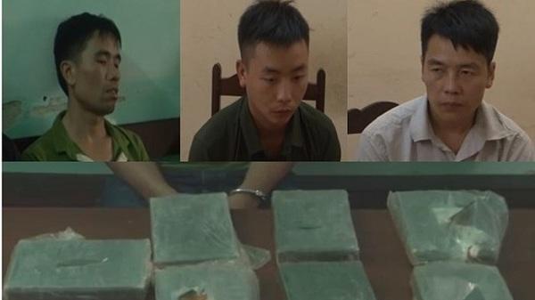 Thanh niên Điện Biên thuê 2 'vệ sỹ' hộ tống vận chuyển 7 bánh heroin bị bắt giữ