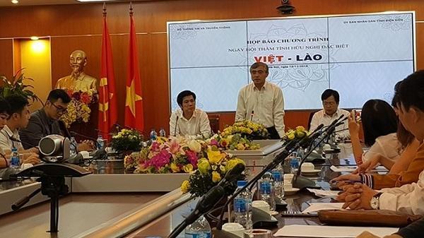 Thành phố Điện Biên Phủ tổ chức ngày hội 'Thắm tình hữu nghị đặc biệt Việt - Lào'