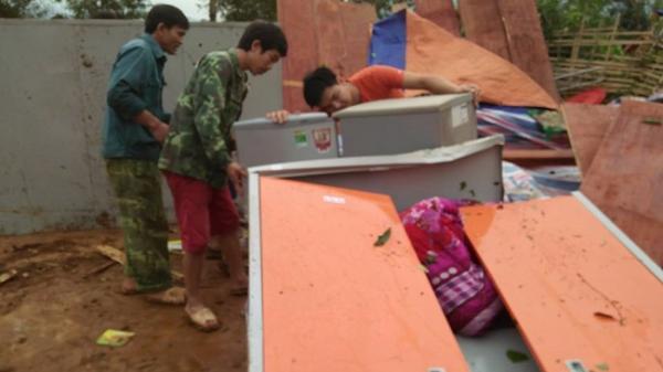 Cập nhật tại Điện Biên: Ước tính thiệt hại hơn 1 tỷ đồng do giông lốc