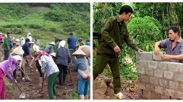 Xây dựng nông thôn mới ở Điện Biên: Thành ở dân, bại cũng ở dân