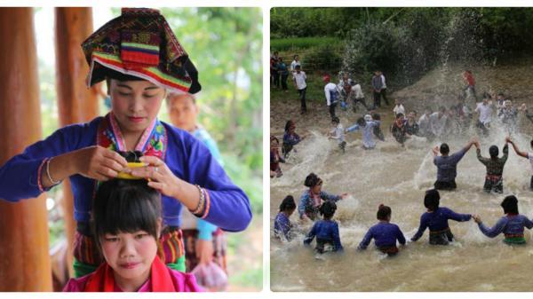 Cần gì sang Lào, ở Điện Biên cũng có Tết té nước cực vui và thú vị