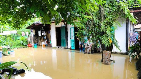 Điện Biên: Mưa lớn gây ngập úng tại nhiều địa phương