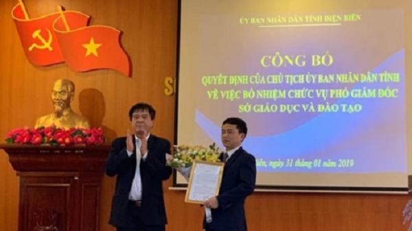 Điện Biên: Công bố Quyết định bổ nhiệm Phó Giám đốc Sở GD&ĐT 