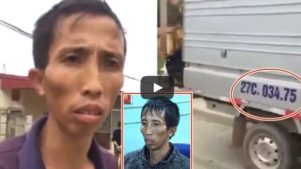 Clip: Kẻ chủ mưu vụ s.át hại nữ sinh từng chạy xe tải gây tai nạn ngày 28 Tết