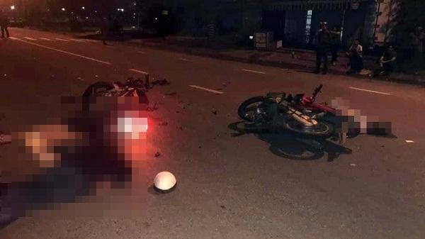 Hải Dương: Va chạm xe máy trên quốc lộ 18 làm 3 người th.ương v.ong