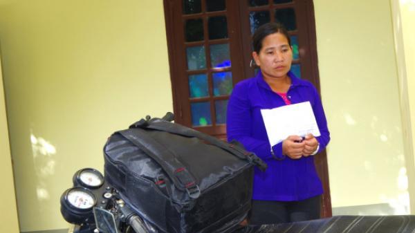 Điện Biên: Bắt nữ quái vận chuyển thuê ma túy lấy 5 triệu đồng