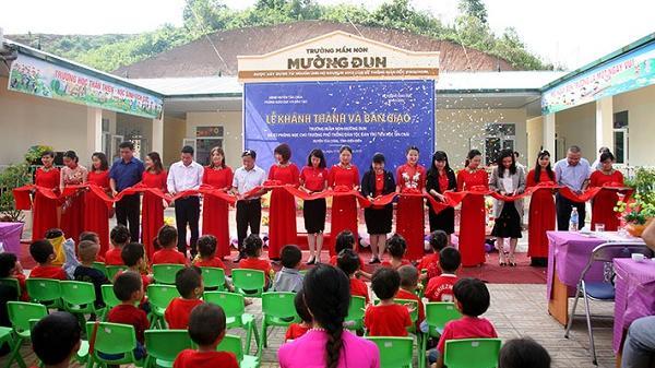 Điện Biên: Tiếp nhận công trình lớp học trị giá trên 3,7 tỷ đồng