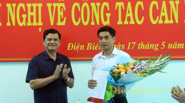 Điện Biên bổ nhiệm chức vụ Phó trưởng Ban Nội chính Tỉnh ủy và Phó trưởng Ban Dân vận Tỉnh ủy