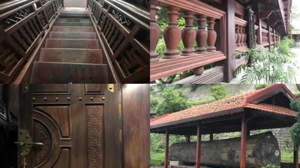 Điện Biên sở hữu ngôi nhà sàn gỗ lim lớn nhất Việt Nam
